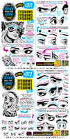 How to THINK when you draw EYEBROWS tutorial!