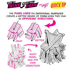 How to THINK when you draw INTERSECTING CONTOURS!