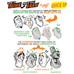 How to THINK when you draw EXPRESSIONS QUICK TIP!