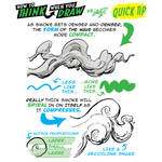 How to THINK when you draw SMOKE QUICK TIP!