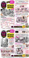 How to THINK when you draw DETAILED INTERIORS!