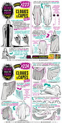 How to THINK when you draw CLOAKS and CAPES!