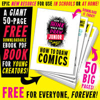 HUGE FREE 50-PAGE EBOOK PDF for YOUNG CREATORS!