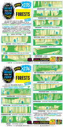 How to THINK when you draw FORESTS (part 3 of 4!)