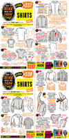 How to THINK when you draw SHIRTS tutorial!