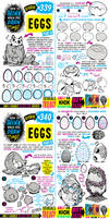 How to THINK when you draw EGGS tutorial!