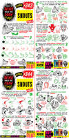 How to THINK when you draw SNOUTS tutorial!