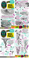 How to THINK when you draw WHIRLPOOLS tutorial!
