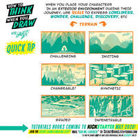 How to THINK when you draw ENVIRONMENTS QUICK TIP!
