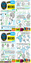 How to THINK when you draw NECKS tutorial!