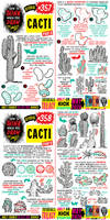 How to THINK when you draw CACTI tutorial!