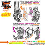 How to THINK when you draw ROBOT HANDS QUICK TIP!