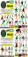 How to THINK when you draw WALKS tutorial!