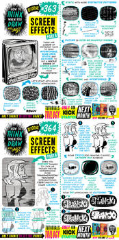 How to THINK when you draw SCREEN EFFECTS tutorial