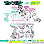How to THINK when you draw RABBIT and HARE EARS!