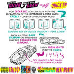 How to THINK when you draw ICE QUICK TIP!
