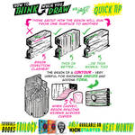 How to THINK when you draw WOODGRAIN QUICK TIP!