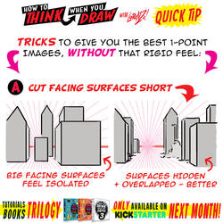 How to THINK when you draw PERSPECTIVE QUICK TIP!