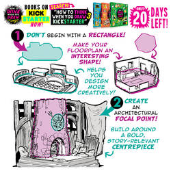 INTERIORS QUICK TIP! BOOKS on KICKSTARTER NOW!