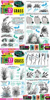 GRASS tutorial! Tutorials BOOKS on KICKSTARTER NOW