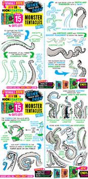 How to draw TENTACLES! KICKSTARTER ENDS SOOOOOOON!