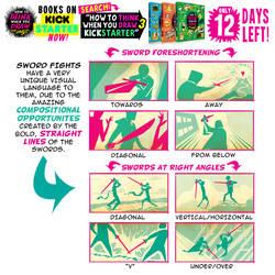 SWORD FIGHTS! KICKSTARTER ENDS in 12 DAYS!