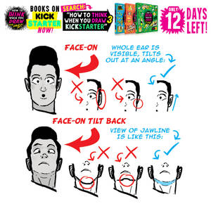 CHIN and EAR ANGLES! 12 DAYS LEFT to get the BOOKS