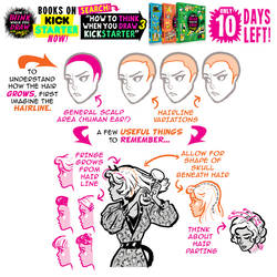 HAIRLINES! 10 DAYS to get the tutorials BOOKS!!!!!