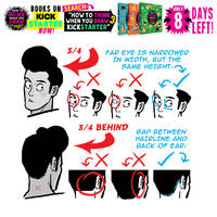 HEAD drawing TIPS! FINAL 8 DAYS to get the BOOKS!!