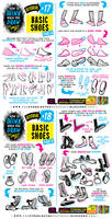HOW to THINK when you draw FEET AND SHOES tutorial