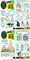 How to THINK when you draw IN 3D tutorial!