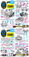 How to THINK when you draw CRABS tutorial!