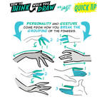 How to THINK when you draw HANDS QUICK TIP!
