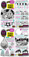 How to THINK when you draw GLASS DOMES tutorial!