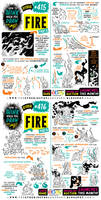 How to THINK when you draw FIRE tutorial!