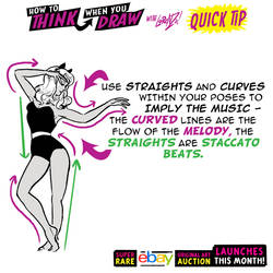 How to THINK when you draw DANCE POSES QUICK TIP!