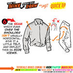 How to THINK when you draw SHIRTS QUICK TIP!