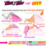 BIRD WING BASICS for #LEARNUARY day FOUR!