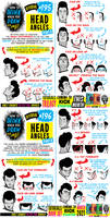 How to draw HEAD ANGLES for #LEARNUARY day 16!!!!!