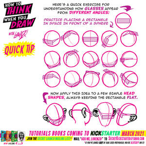 How to draw GLASSES for #LEANRUARY day TWENTY-FIVE