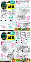 How to draw WEBS for #LEARNUARY day TWENTY-NINE!