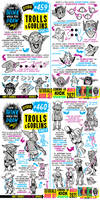 How to THINK when you draw TROLLS and GOBLINS!!!