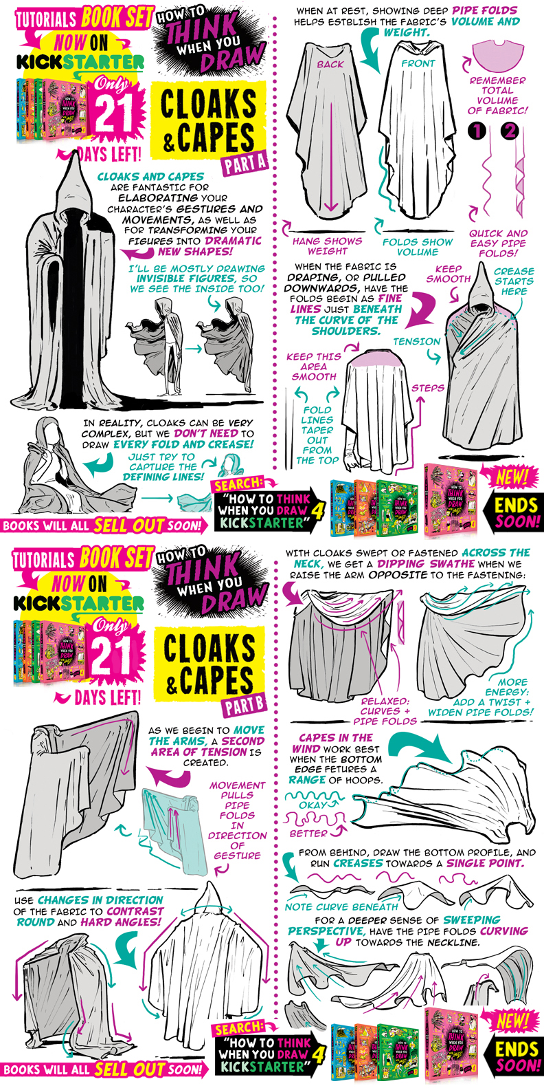 CAPES! Just 21 DAYS to get the tutorials BOOKS!!!!
