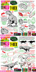 T-REX! My tutorials BOOKS will SELL OUT SOON!