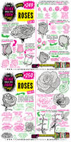 How to THINK when you draw ROSES tutorial!