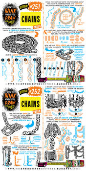 How to THINK when you draw CHAINS tutorial!