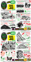 How to THINK when you draw SOIL and MUD tutorial!