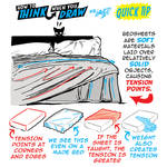 How to THINK when you draw BEDSHEETS quick tip!