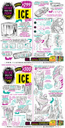 How to THINK when you draw ICE tutorial!