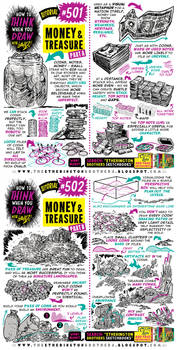 How to THINK when you draw MONEY and TREASURE!